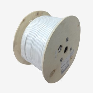 57893-1 cáp mạng AMP cat7A S/FTP Cable, 4-Pairs, 23AWG, LSZH, White, 1000Meter/Reel, 1000MHz